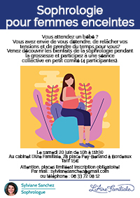 affiche sophro femmes enceintes